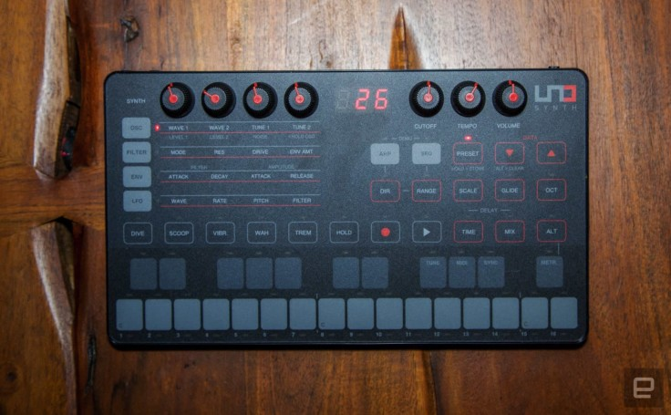 IK Multimedia's Uno synth packs big sound on a small budget