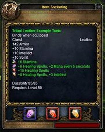 Socketed items still not impressing players
