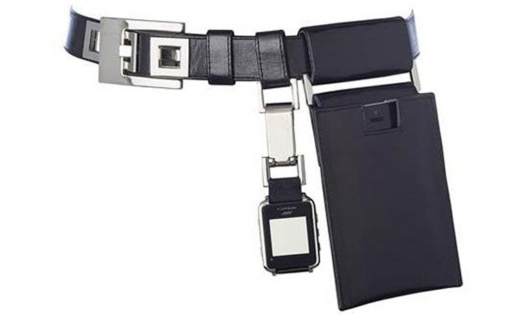Smartwatch belt gives you wearable tech without the convenience