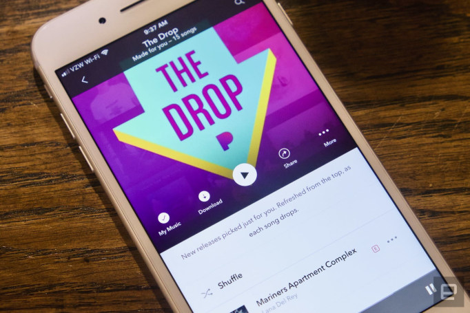 Pandora's customized new music playlist 'The Drop' arrives today