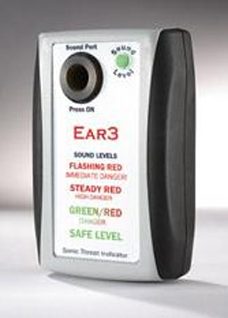 The Ear3 loudness-detecting machine