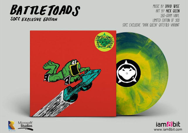'Battletoads' is getting a Comic-Con exclusive vinyl soundtrack