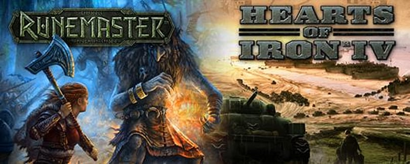 Paradox Interactive unveils Hearts of Iron 4, Norse RPG Runemaster