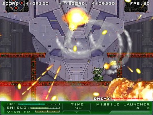 Gigantic Army paying homage to 16-bit mech shooters in February