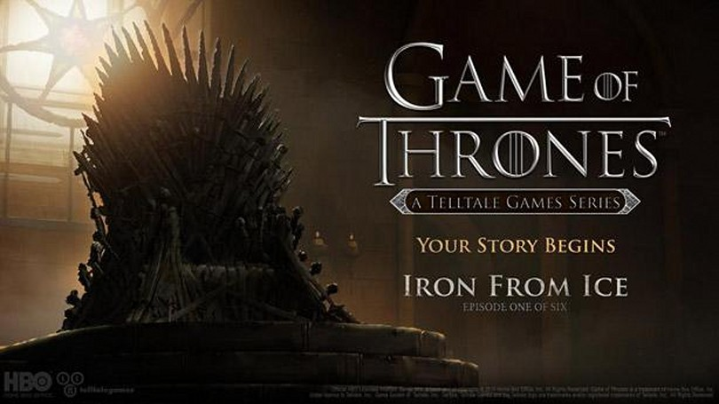 Winter is coming - Telltale's Game of Thrones releases December 2