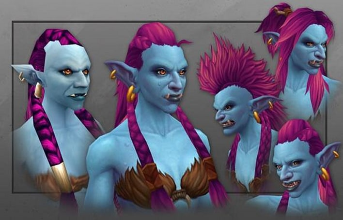 Artcraft shows off male and female trolls