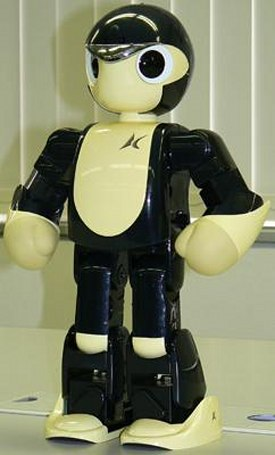 Kyosho's newest little humanoid bot, the Manoi PF-01
