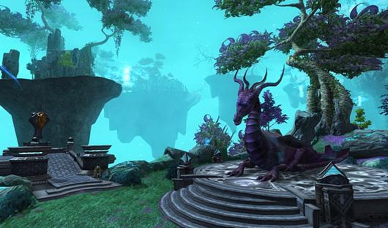 Dragons take flight in EQII's Tears of Veeshan today