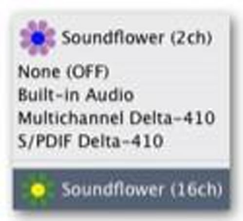 Soundflower now Universal