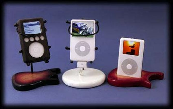 Put your iPod on a pedestal