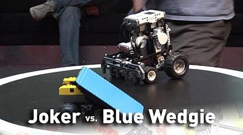 Killer Lego sumo bots are back for more
