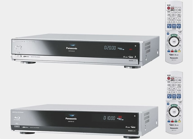 Panasonic's DMR-BW200 and BR100 Blu-ray and hard disk recorders