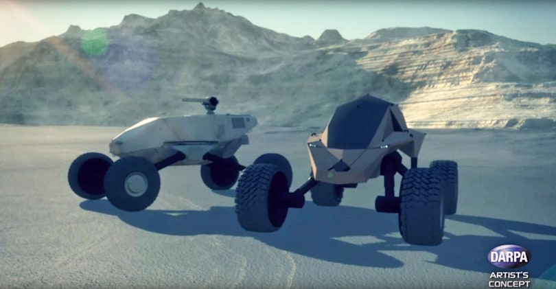 DARPA is developing smarter, faster armored vehicles