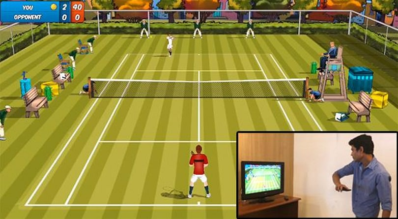Rolocule's Motion Tennis will use Chromecast mirroring to recreate Wii Sports