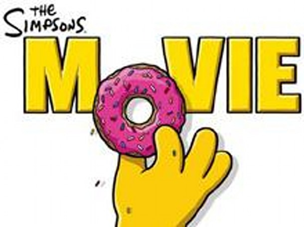 Pirated Simpsons Movie footage snagged with mobile