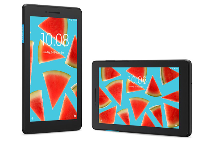 Lenovo's latest tablets include a $70 Android Go model