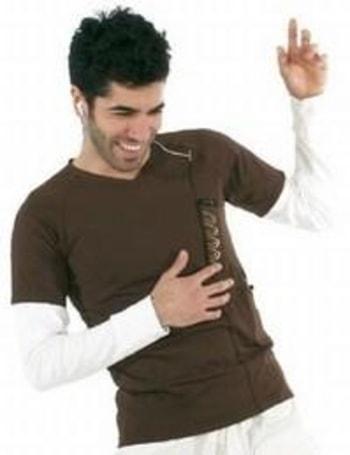URBAN TOOL's grooveRider iPod shirt