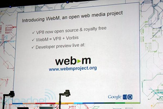 Google launches open WebM web video format based on VP8 (update: hardware partners and Microsoft statement)