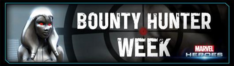 Marvel Heroes hosting Bounty Hunter Week