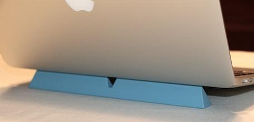 Designed by m's CURB: The minimal MacBook stand