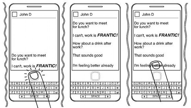 RIM applies for patent on detecting emotion in messaging, wants you chilled while you BBM