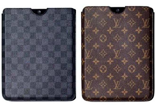 Louis Vuitton selling an iPad case you don't need