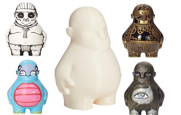 MakerBot launches a blank dummy you can turn into art