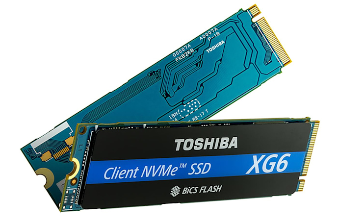 Toshiba's SSDs are the first to use 96-layer 3D flash chips