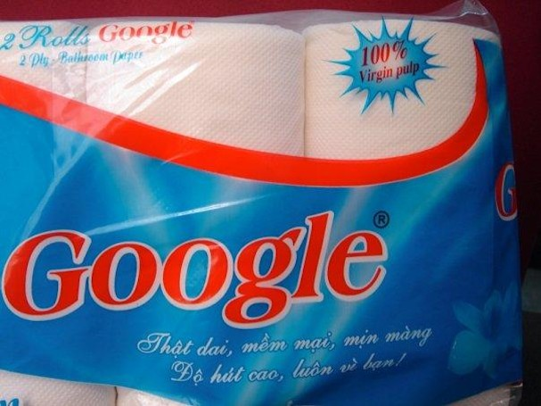 This Google's made from 100% Virgin pulp, not chrome