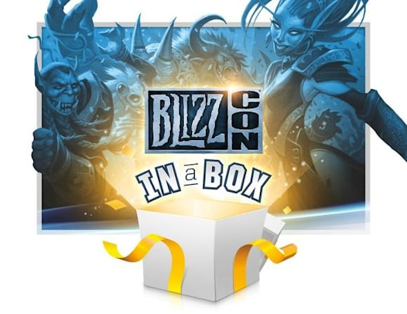 Enter to win a BlizzCon in a Box