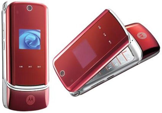 Variations on a theme: the Motorola KRZR Fire