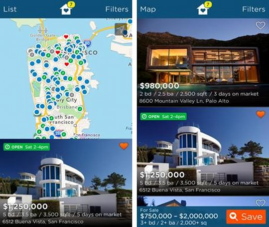 Real Estate by Estately brings its beautiful house listings to your iPhone and iPad