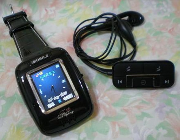 IMOBILE's Flying C1000 phone / PDA / PMP / watch