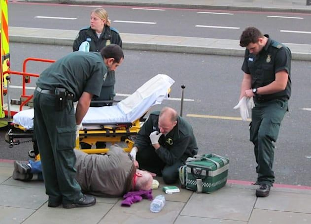 Hail nearby medics with the GoodSAM smartphone app