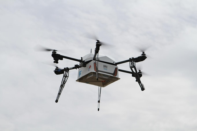 Domino's starts delivering pizza by drone, but only in New Zealand