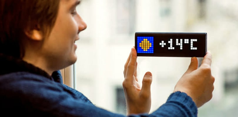 Video: Talking to the developers of the LaMetric smart ticker