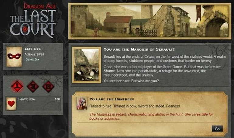 PSA: Dragon Age story bridge The Last Court now in session