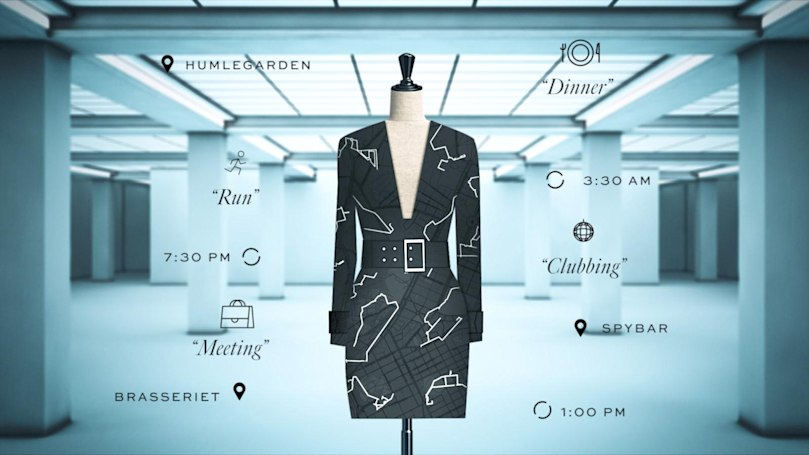 Google project turns your daily routine into custom clothing