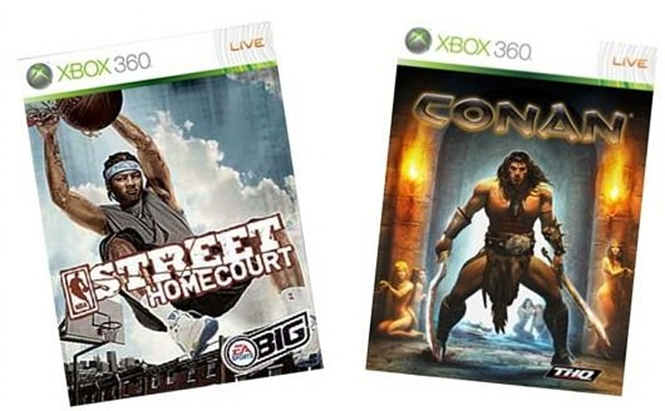 Games on Demand: NBA Street Homecourt, Conan