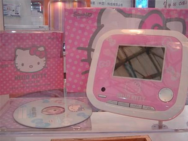 Hello Kitty takes over portable media players