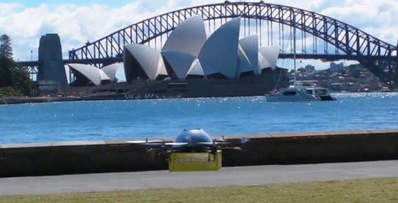 Drones carrying textbooks may populate the Australian sky in the not-so-distant future, US up next