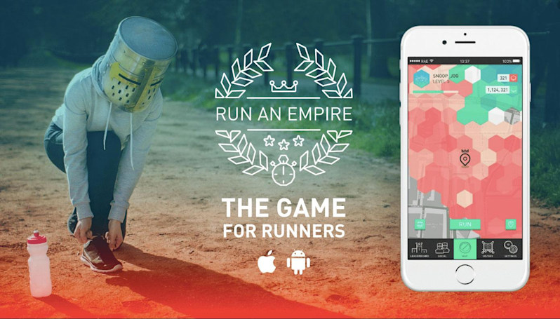 'Run an Empire' turns exercise into an AR strategy game