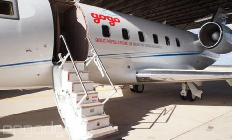 Gogo planning 70 Mbps WiFi on transatlantic flights