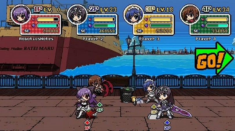 4-player Phantom Breaker: Battle Grounds beats up Vita this month