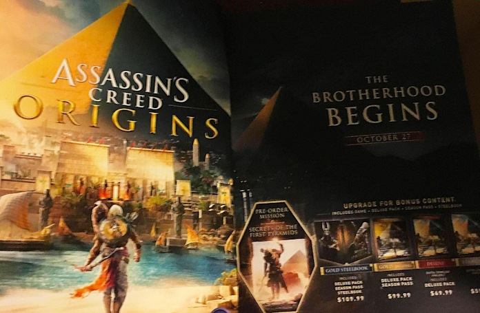 'Assassin's Creed Origins' could arrive on October 27th