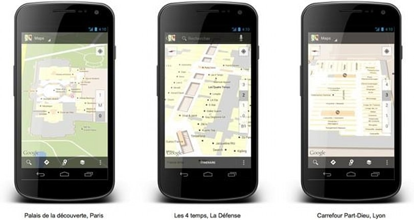 Google Maps for Android takes navigation indoors for France, helps find your way through Carrefour