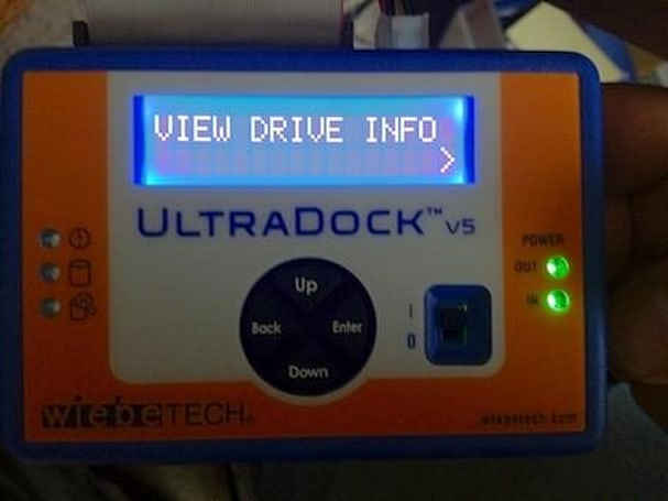 WiebeTech UltraDock v5: A marriage of Macs and bare drives