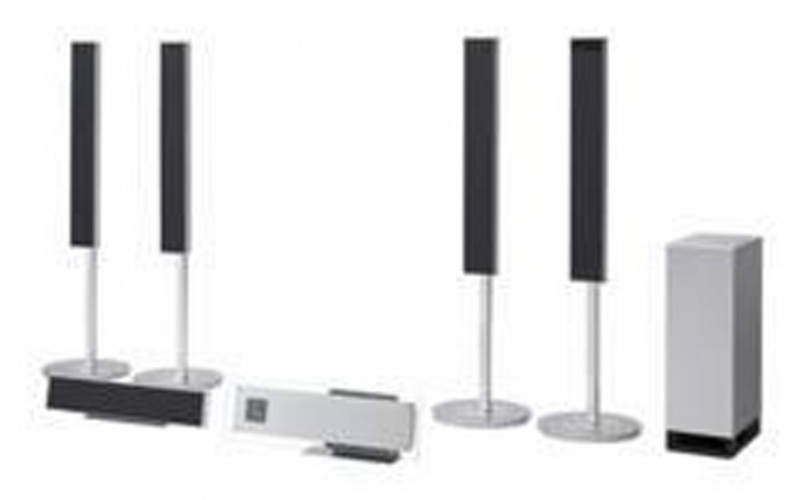 Sony's max convenience DAV-LF1H home theater setup