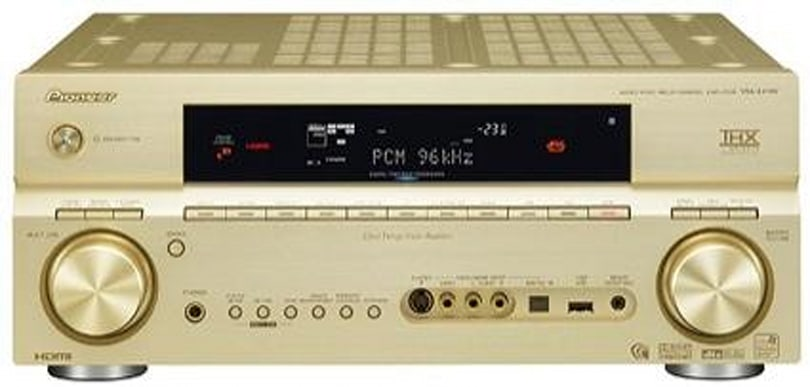 Pioneer's VSA-AX1AV 7.1ch receiver with 2 x HDMI and iPod support