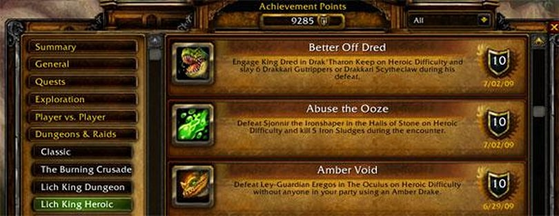 Russian player unlocks every WoW achievement